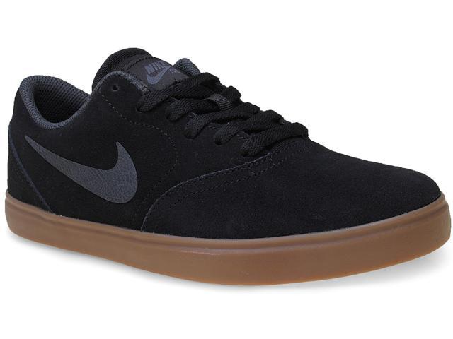 Tênis Masculino Nike 705265-003 sb Check  Preto