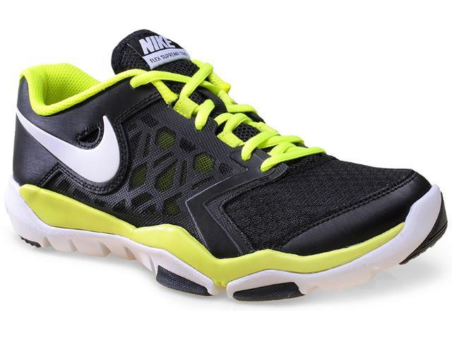 Tênis Masculino Nike 749165-001 Flex Supreme tr 4 Preto/limão