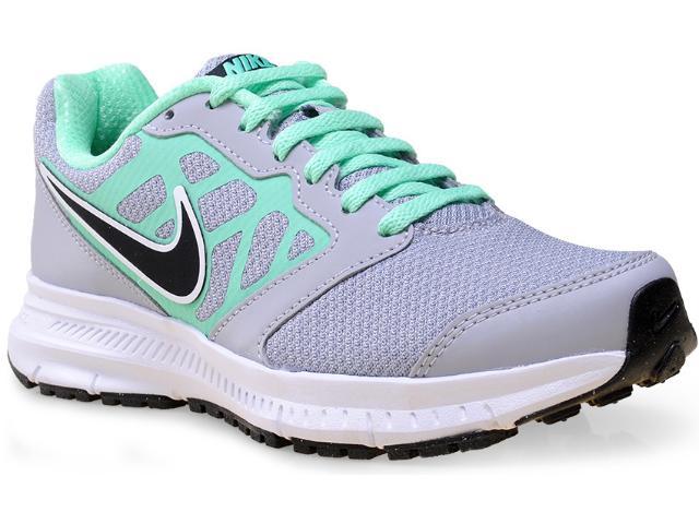 Tênis Feminino Nike 684771-013 Wmns Downshifter 6 Msl  Cinza/verde