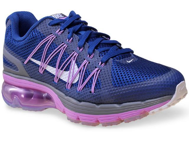 Tênis Feminino Nike 703073-400 Wmns Air Max Excellerate 3  Marinho/lilas