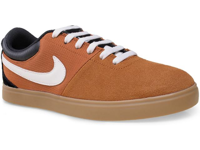 Tênis Masculino Nike 641747-210 Rabona lr Marrom/preto/branco