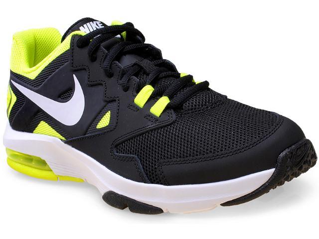 Tênis Masculino Nike 719933-006  Air Max Crusher 2 Preto/branco/limão