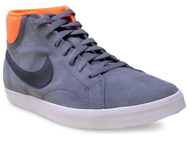 Tênis Masculino Nike 555250-008 Eastham Mid  Cinza/laranja