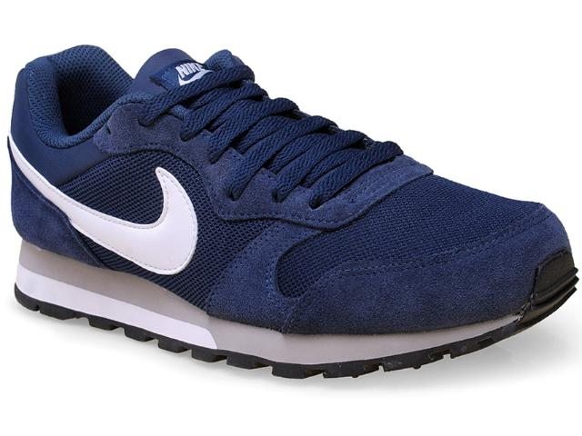 Tênis Masculino Nike 749794-410 md Runner 2 Marinho/branco