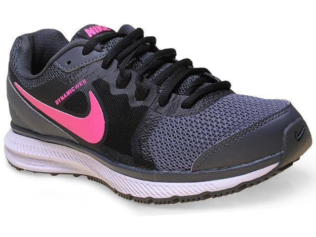 Tênis Feminino Nike 725159-017 Wmns Zoom Winflo Msl Grafite/preto