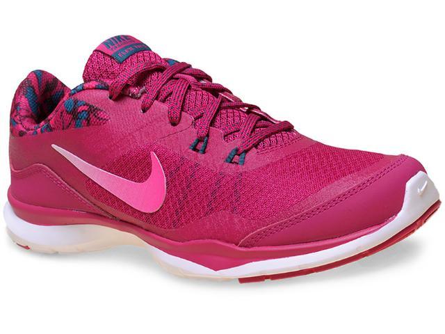 Tênis Feminino Nike 749184-602 Wmns Flex Trainer 5 Print Pink