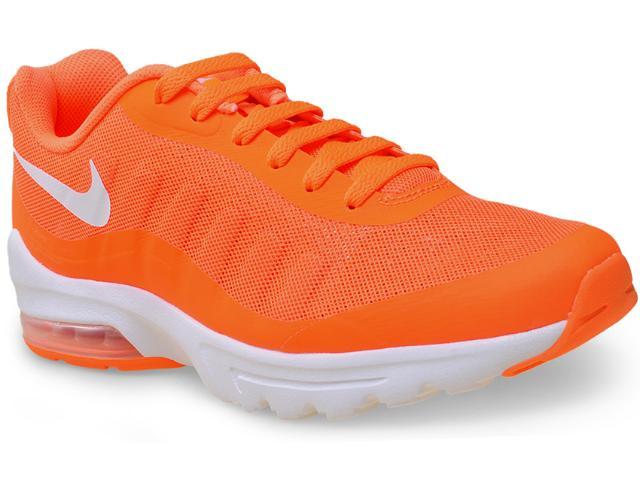 Tênis Masculino Nike 749680-810 Air Max Invigor  Laranja Neon
