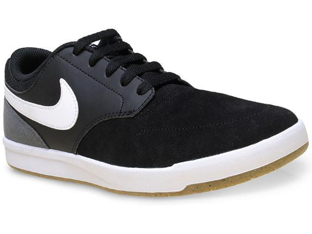 Tênis Masculino Nike 749477-012 sb Fokus  Preto/branco/cinza