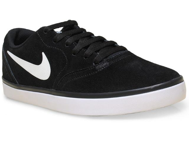 Tênis Masculino Nike 705265-004 sb Check  Preto