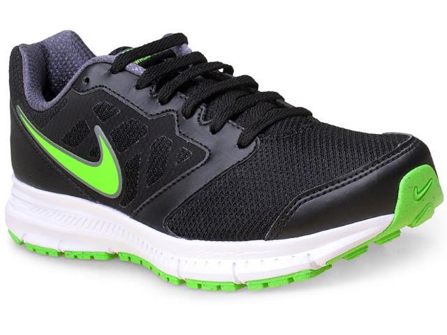 Tênis Masculino Nike 684658-023 Downshifter 6 Msl  Preto/verde