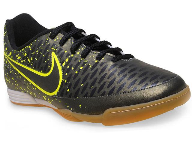 Tênis Masculino Nike 651550-370 Magista Ola ic Verde Escuro/limão
