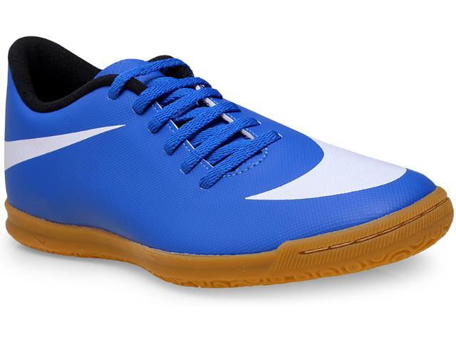 Tênis Masculino Nike 768924-410 Bravata ic  Azul/branco