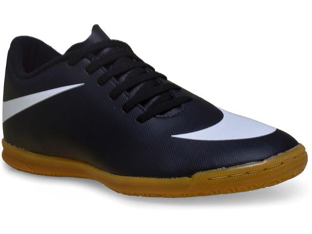 Tênis Masculino Nike 768924-011 Bravata ic  Preto/branco