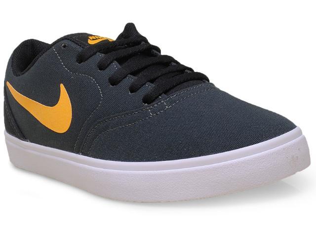 Tênis Masculino Nike 705268-370 sb Check Cnvs Verde Musgo/amarelo