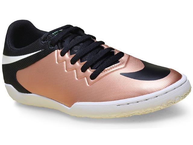 Tênis Masculino Nike 749903-903 Hypervenom Pro ic   Preto/cobre