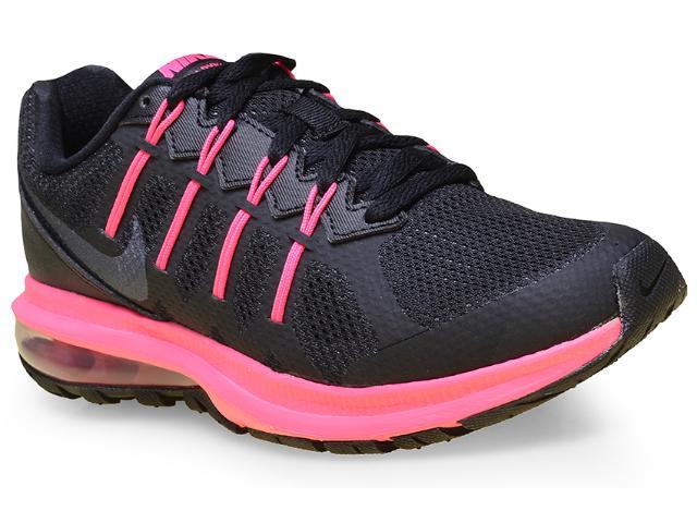 Tênis Feminino Nike 819154-003 Air Max Dynasty Msl  Preto/pink