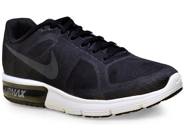 Tênis Feminino Nike 719916-008 cp Max Preto