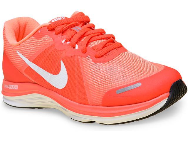 Tênis Feminino Nike 819318-600 Dual Fusion x 2  Laranja