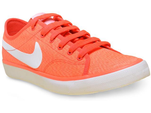 Tênis Feminino Nike 820202-618 Wmns Primo Court Txt  Laranja Neon