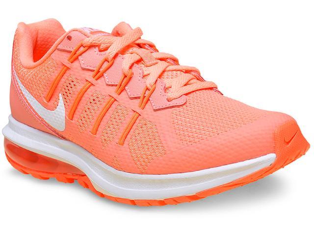 Tênis Feminino Nike 819154-600 Air Max Dynasty Msl  Laranja Neon