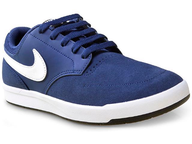 Tênis Masculino Nike 749477-410 sb Fokus  Marinho/branco