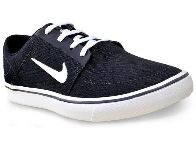 Tênis Masculino Nike 723874-003 sb Portmore Cnvs  Preto/branco