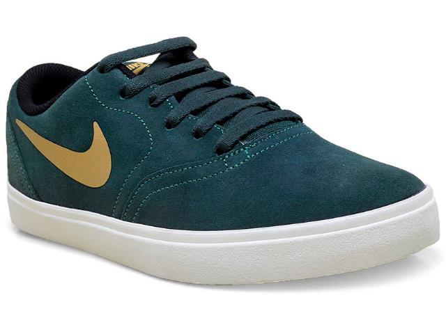 Tênis Masculino Nike 705265-370 sb Check Verde Musgo