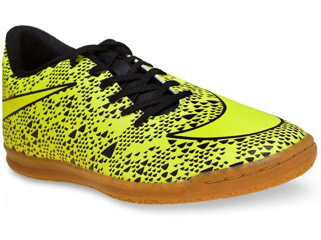 Tênis Masculino Nike 768924-770 Bravata ic  Limão/preto