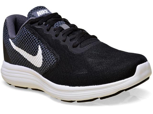 Tênis Masculino Nike 819300-001 Revolution 3  Preto/grafite