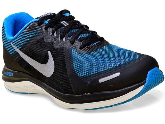 Tênis Masculino Nike 819316-006 Dual Fusion x 2  Preto/azul