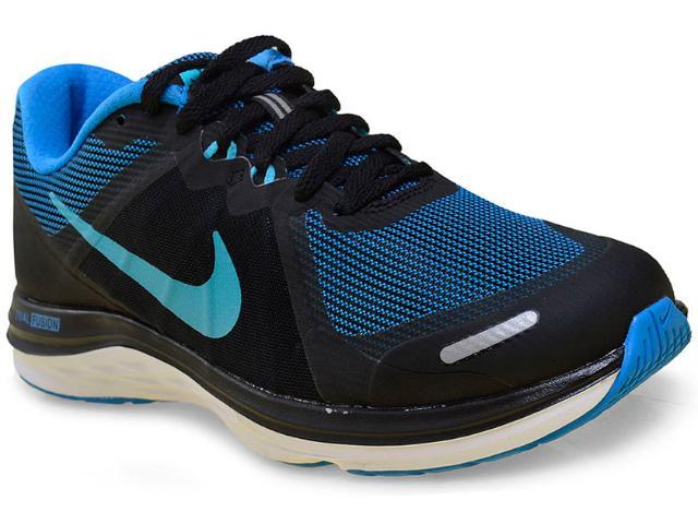 Tênis Feminino Nike 819318-006 Dual Fusion x 2  Preto/azul