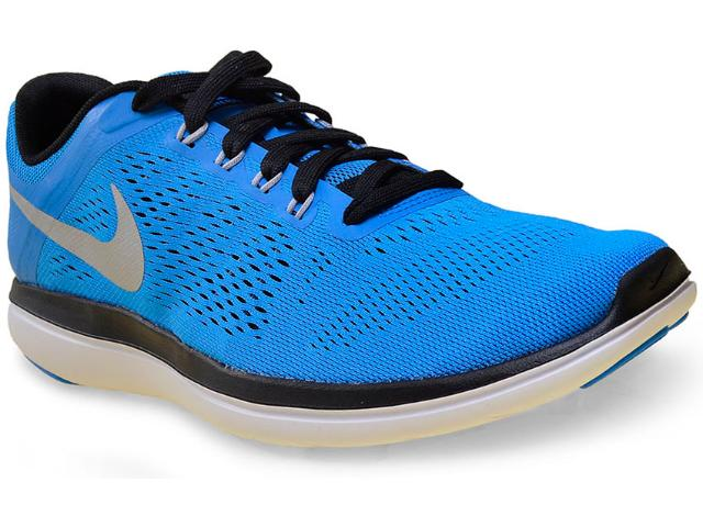 Tênis Masculino Nike 830369-400 Flex 2016 rn  Azul