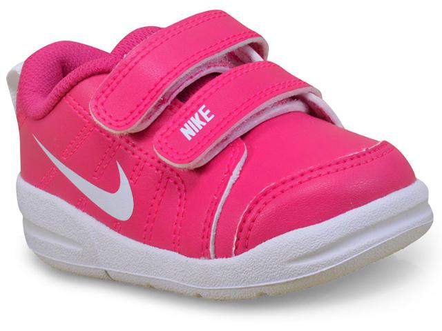 Tênis Fem Infantil Nike 619047-601 Pico Rosa/branco