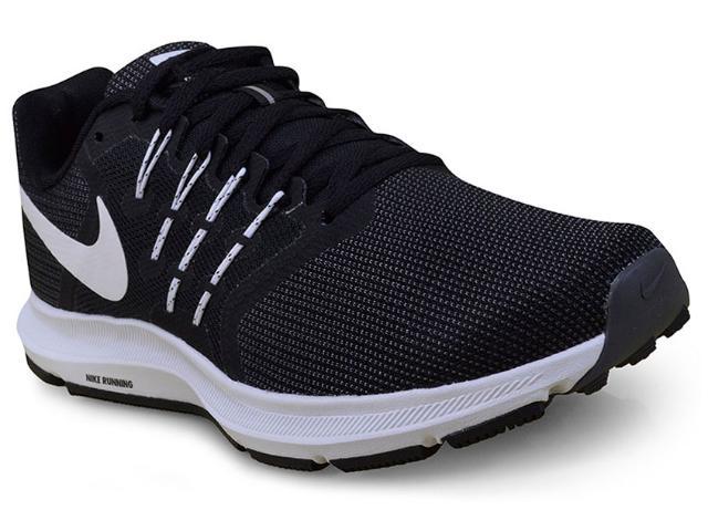 Tênis Masculino Nike 908989-001 Run Swift Preto/branco