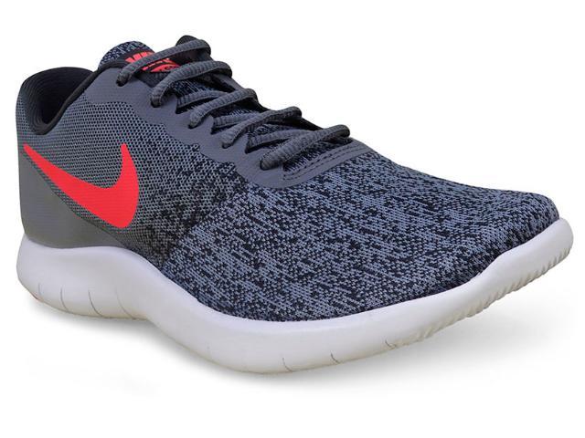 Tênis Feminino Nike 908995-005 Flex Contact Cinza/rosa