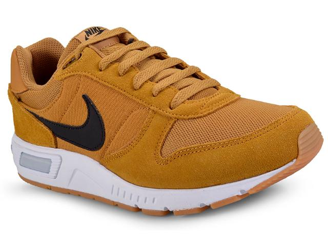 Tênis Masculino Nike 644402-700 Nightgazer  Mostarda