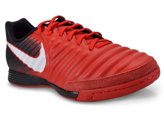 Tênis Masculino Nike 897765-616 Tiempox Ligera iv ic Vermelho/preto