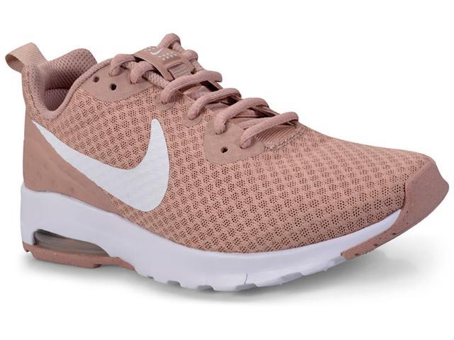 Tênis Feminino Nike 833662-600 Air Max Motion  Rosa Antigo