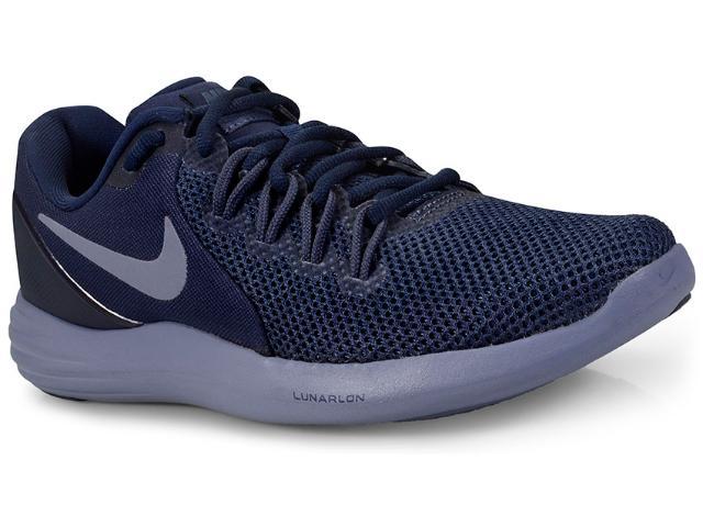 Tênis Masculino Nike 908987-402 Lunar Apparent Marinho