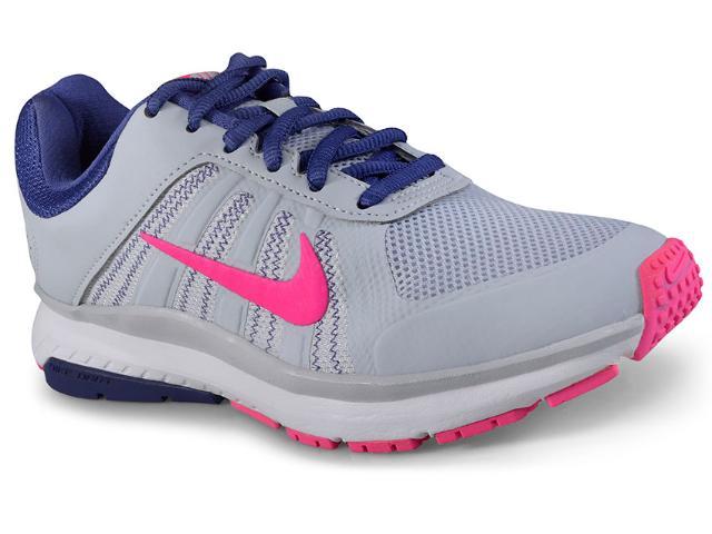 Tênis Feminino Nike 831539-007 Dart 12 Msl Shoe  Cinza/rosa/azul