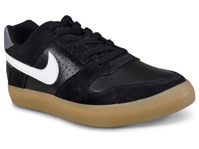 Tênis Masculino Nike 942237-005 Delta Force Vulc Skateboarding  Preto/branco