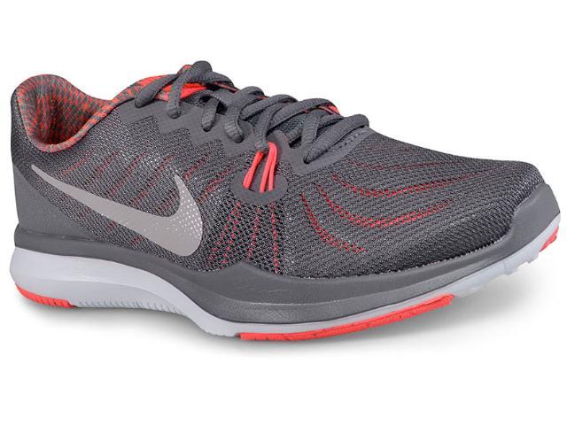 Tênis Feminino Nike 909009-016 Womens  in Season tr 7 Chumbo/coral