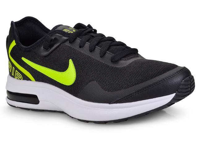 Tênis Masculino Nike Ah7336-003 Air Max lb Preto/limão