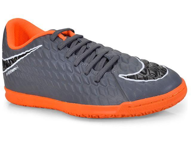 Tênis Masculino Nike Ah7280-081 Hypervenom Phantomix 3  Grafite/laranja