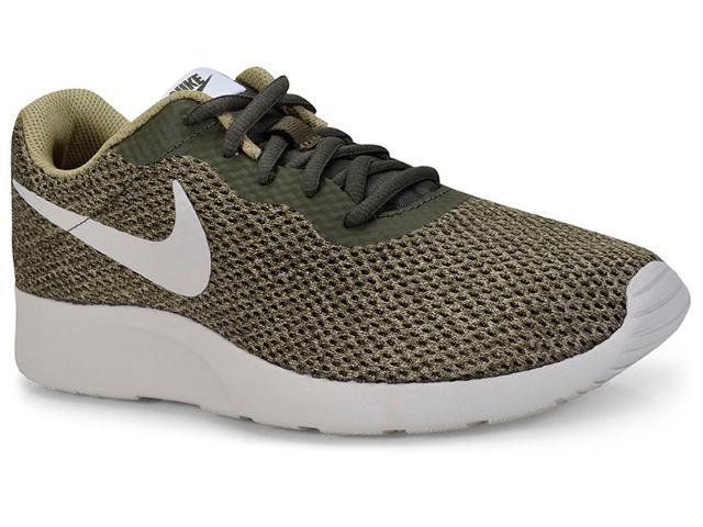 Tênis Masculino Nike 844887-303 Tanjun se Shoe Verde Musgo