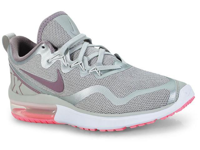Tênis Feminino Nike Aa5740-004 Wmns Air Max Fury Prata/lilas