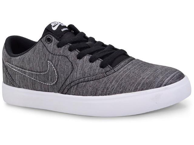 Tênis Masculino Nike 844493-001 sb Check Solar Cnvs Grafite/preto