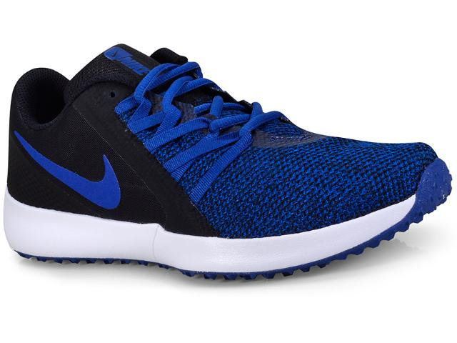 Tênis Masculino Nike Aa7064-004 Varsity Compete Trainer Azul/preto