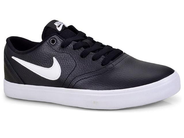 Tênis Masculino Nike 843895-006 sb Check Solar Preto/branco