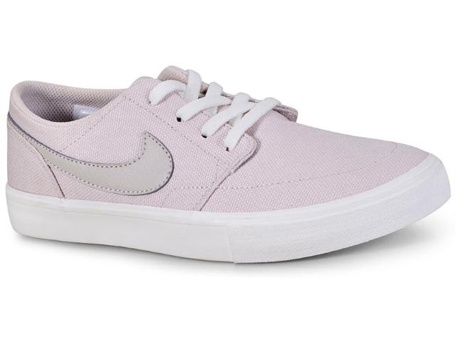 Tênis Feminino Nike Ah4616-001 w sb Portmore ii Bege